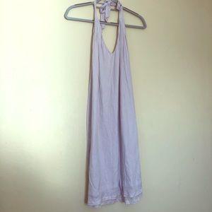 J. Crew Halter Dress Lavender
